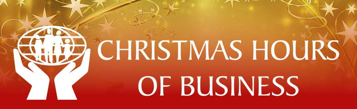 Christmas Business Hours 2020