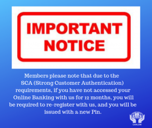 Important Notice for Online Banking & Mobile App users