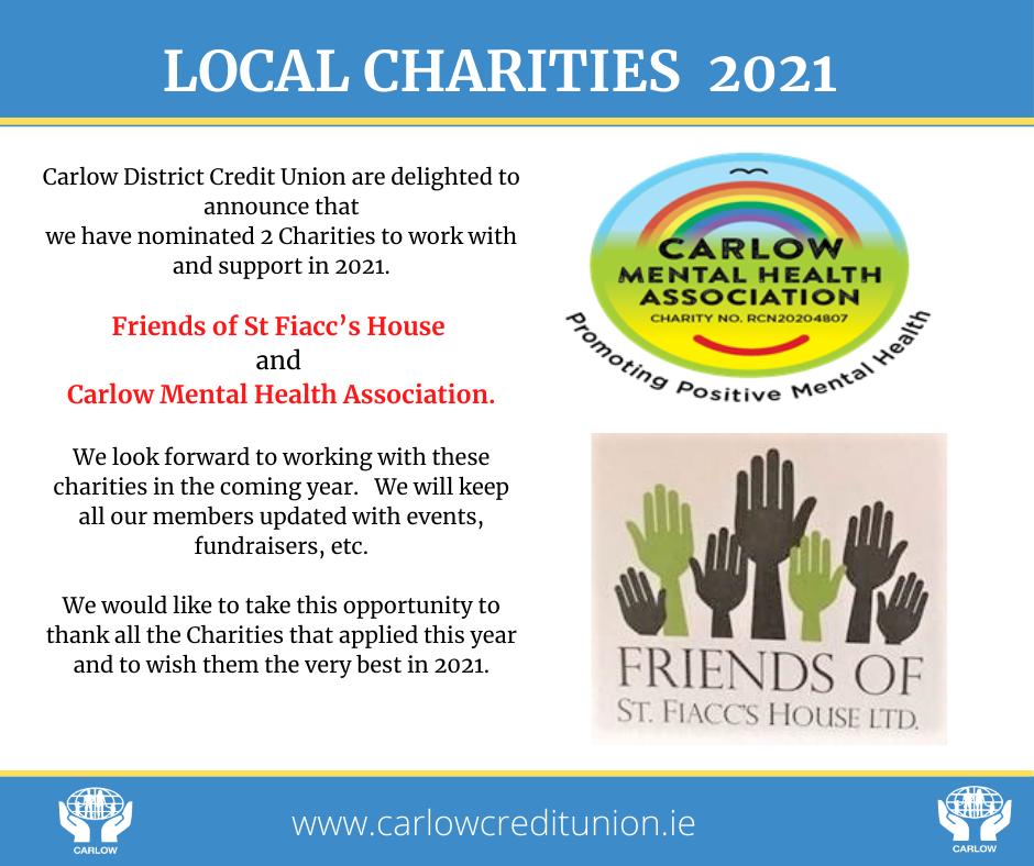 Local Charities 2021